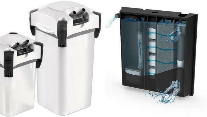 filtro interno o filtro esterno